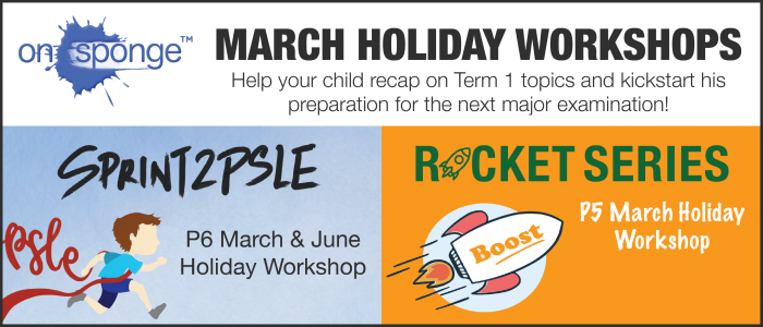 onSponge March Holidays workshop